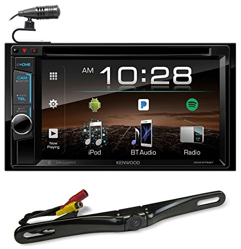"Kenwood DDX375BT 6.2"" In-Dash Car DVD Bluetooth Receiver Monitor+Back-up Camera"
