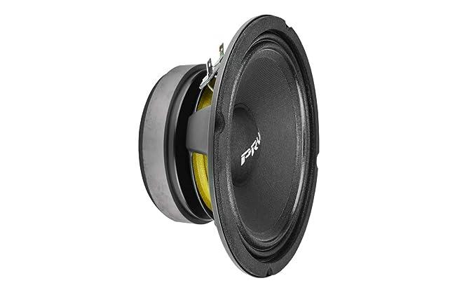 Professionele audioapparatuur Pair PRV Audio 6MB200-4 6-1/2 Midbass Woofer 4 ohm 200 W 96 dB 1.5 Voice Coil Muziekinstrumenten