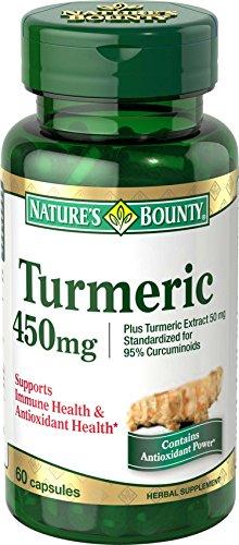Bounty curcuma Nature / curcumine, 60 capsules, 450 Mg