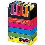 Uni-posca Paint Marker Pen - Medium Point - Set of 15 (PC-5M15C)