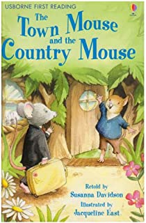 cf96aa32cde7 The Town Mouse and the Country Mouse (Usborne First Reading  Level 4)