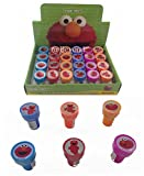 Disney Elmo Self-inking Stamps Birthday Party Favors 24 Pieces (Complete Box)