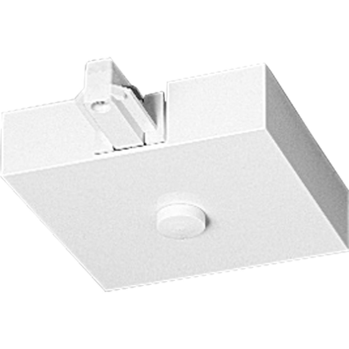 Progress Lighting P9109-28 T-Bar End Feed with Canopy Cover, Bright White