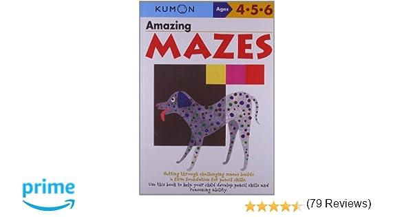 Amazing Mazes (Kumon's Practice Books): Kumon: 9784774307107 ...
