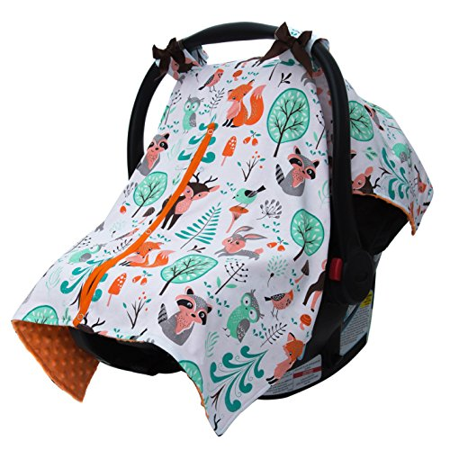 Cow Print Baby Car Seat Stroller - 4
