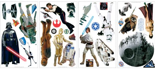 Star wars glow in the dark wall decals highest clarity pictures