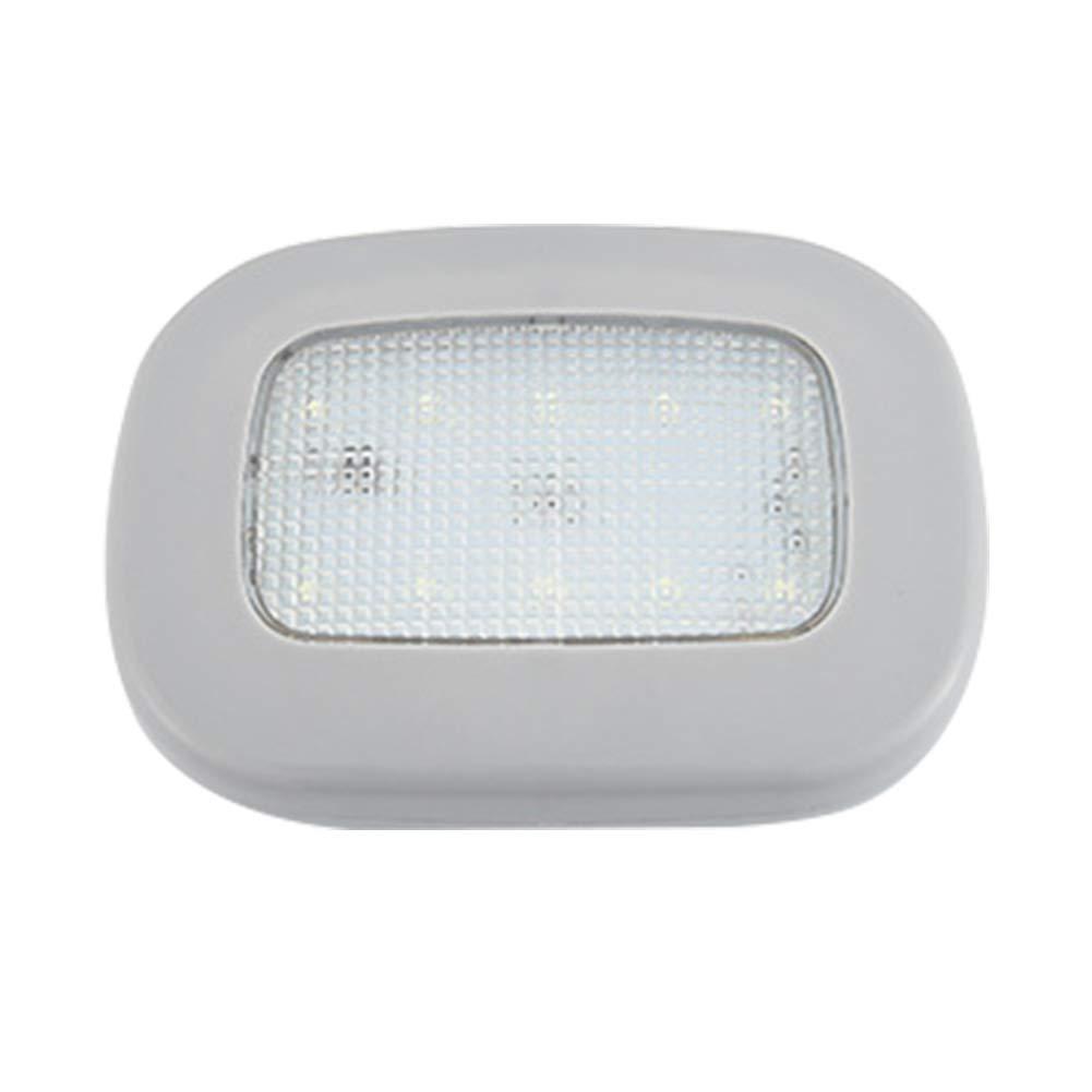 luz de Lectura magn/ética ZAK168 luz de c/úpula Tama/ño Libre Luz LED para Techo de Coche Carga USB Universal para Interior de Coche Beige-Ice Blue Light