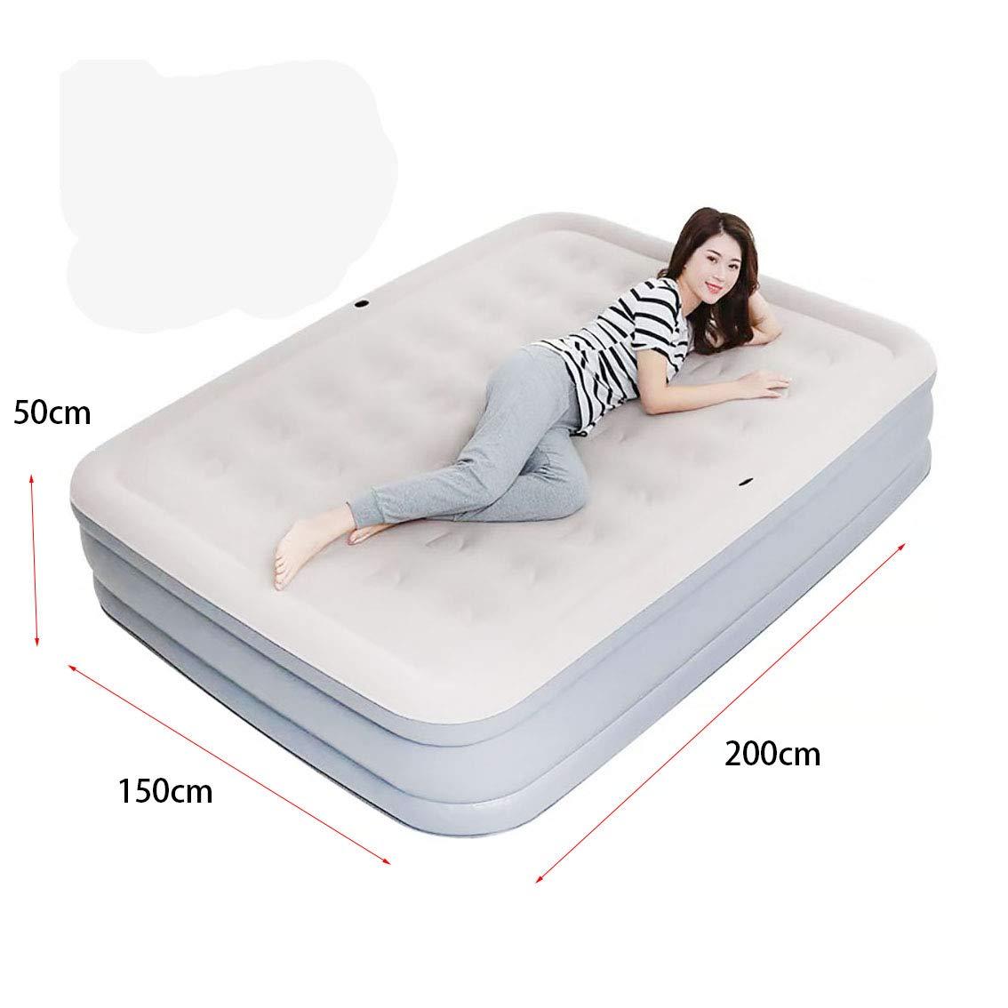 Colchón Inflable de colchón de Aire Cama King Size Cama de Aire ...