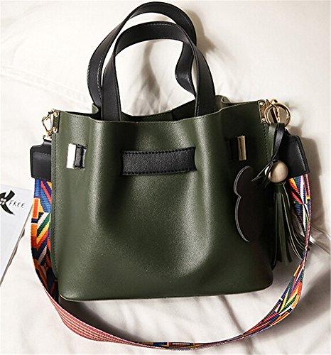 TOMATO-smile - Bolso mochila  para mujer azul negro Verde