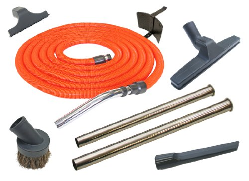 Central Vacuum Cleaner 30 Foot Garage Cleaning Attachment Ho
