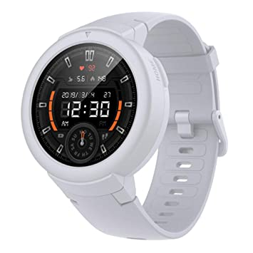 AMAZFIT Verge Lite Bluetooth Fitness Smartwatch (Snowcap White ...