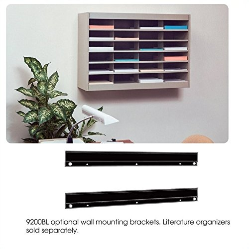 Scranton & Co Black Wall Mounting Bracket for Mail Organizer by Scranton & Co