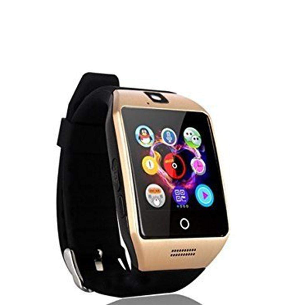 Amazon.com: Miseku Smart Watch with Camera, Aosmart Q18 Bluetooth Smartwatch with Sim Card Slot Fitness Activity Tracker Sport Watch for Android ...