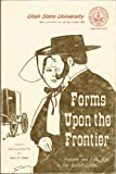 Forms upon the Frontier, , 0874210364