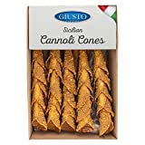 Giusto Sapore Sicilian Cannoli Shells - Cannoli Cones - 50 Pack - Imported from Italy and Family Owned Brand