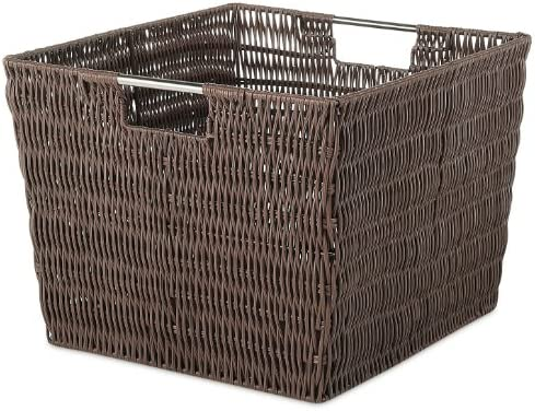 Java Whitmor Rattique Storage Tote Basket