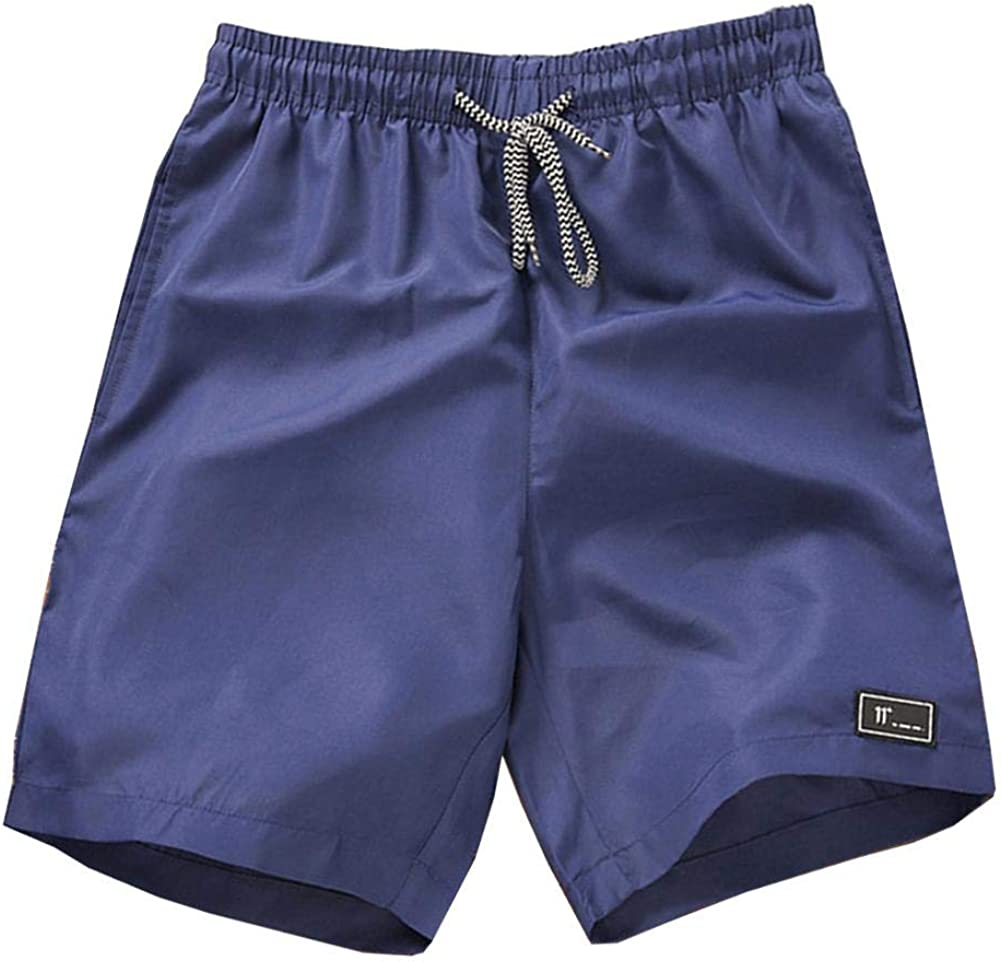 ZHUOTOP Mens Drawstring Shorts Summer Cargo Swim Beach Outdoor Sports Casual Short Pants Breathable Cool