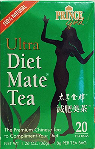 Mate Tea Diet Ultra - 減肥美茶 Prince of Peace Tea,Ultra Diet Mate, 20 Bags (Pack of 3)