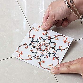 Amazon Com Daydayholiday Tile Diagonal Stickers Floor