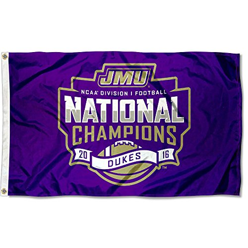 James Madison Dukes Division NCAA Football Champions Flag