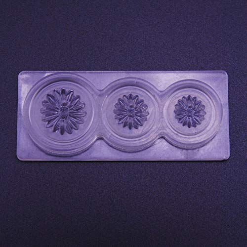 zsjhtc Durable 3D Silicone Mold Mould for Nail Art DIY Tips Decoration Accessories Sunflower
