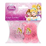 Hit Entertainment Licensed Logo Loomz Filler Loom Bands & 2 Charm Pack - Disney, DC Comics & More! (Disney Princesses - Aurora) by Logo Loomz