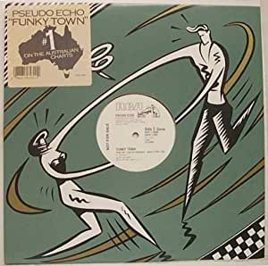 "Greenberg - Pseudo Echo Funky Town 12"" Single Record Album"