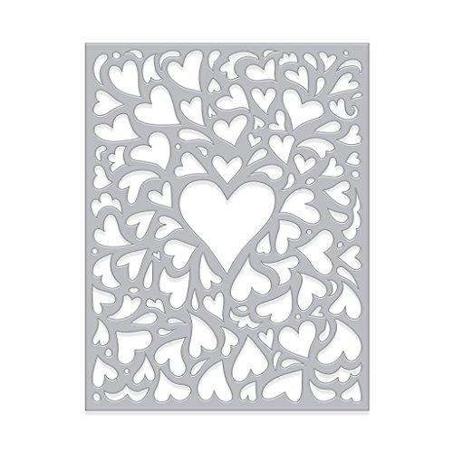 Hero Arts Paper Layering Dies Window On Love Confetti Fancy Die by Hero Arts