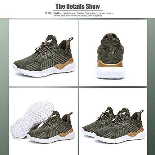 Kids Shoes Sneakers Running Tennis Wrestling Athletic Gym Shoes Boys Girls Black