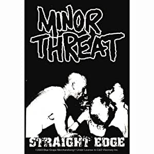 Minor Threat - Straight Edge Decal