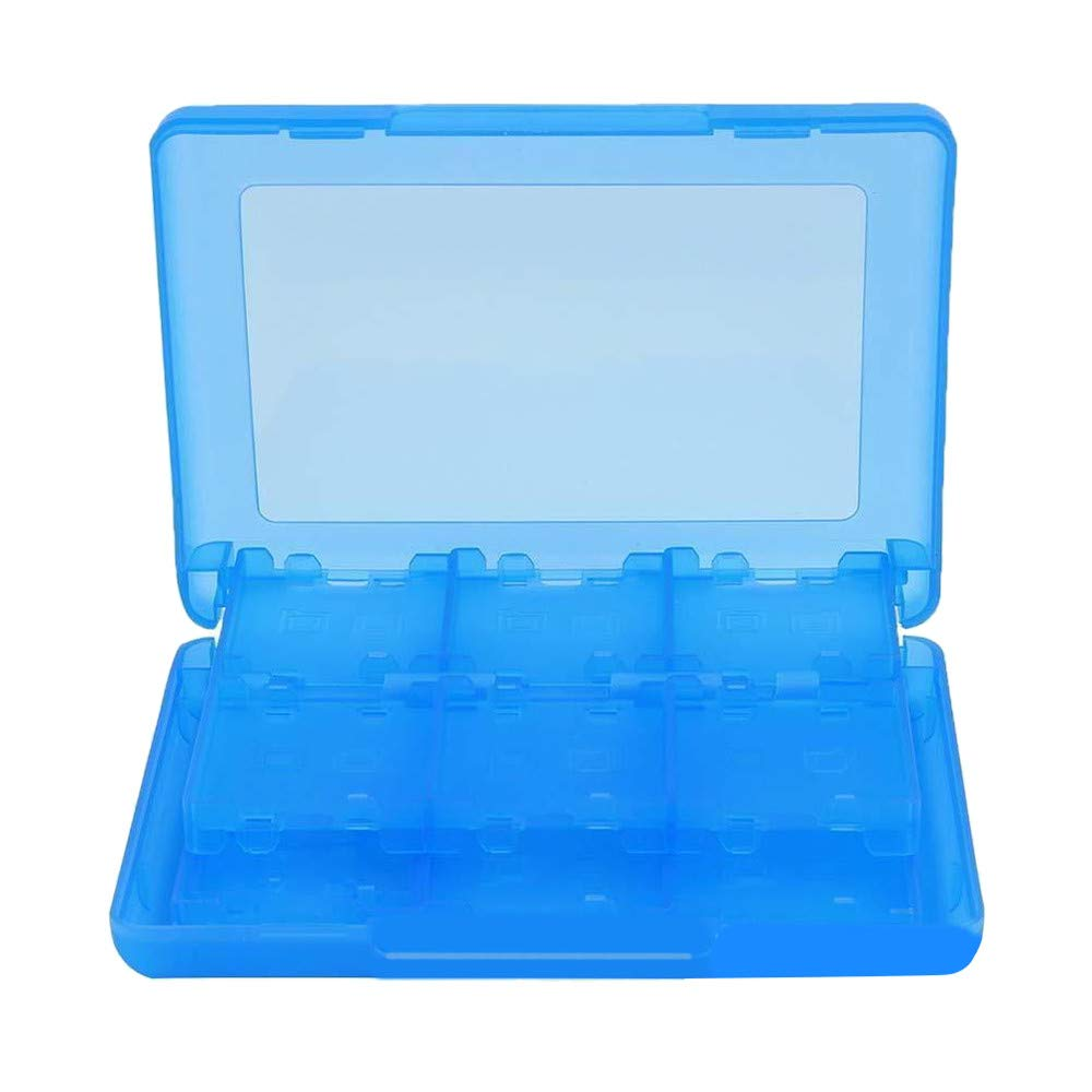 Universal Plastic Game SD TF Card Case Cover Organizer for Nintendo Switch (Blue) by Kintaz (Image #2)