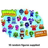 Moshi Monsters Series 3 Moshling Collectable Figures Value Set of 10 by Vivid Imaginations