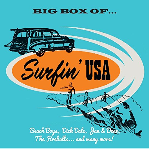 Price comparison product image Big Box Of Surfin USA / Various