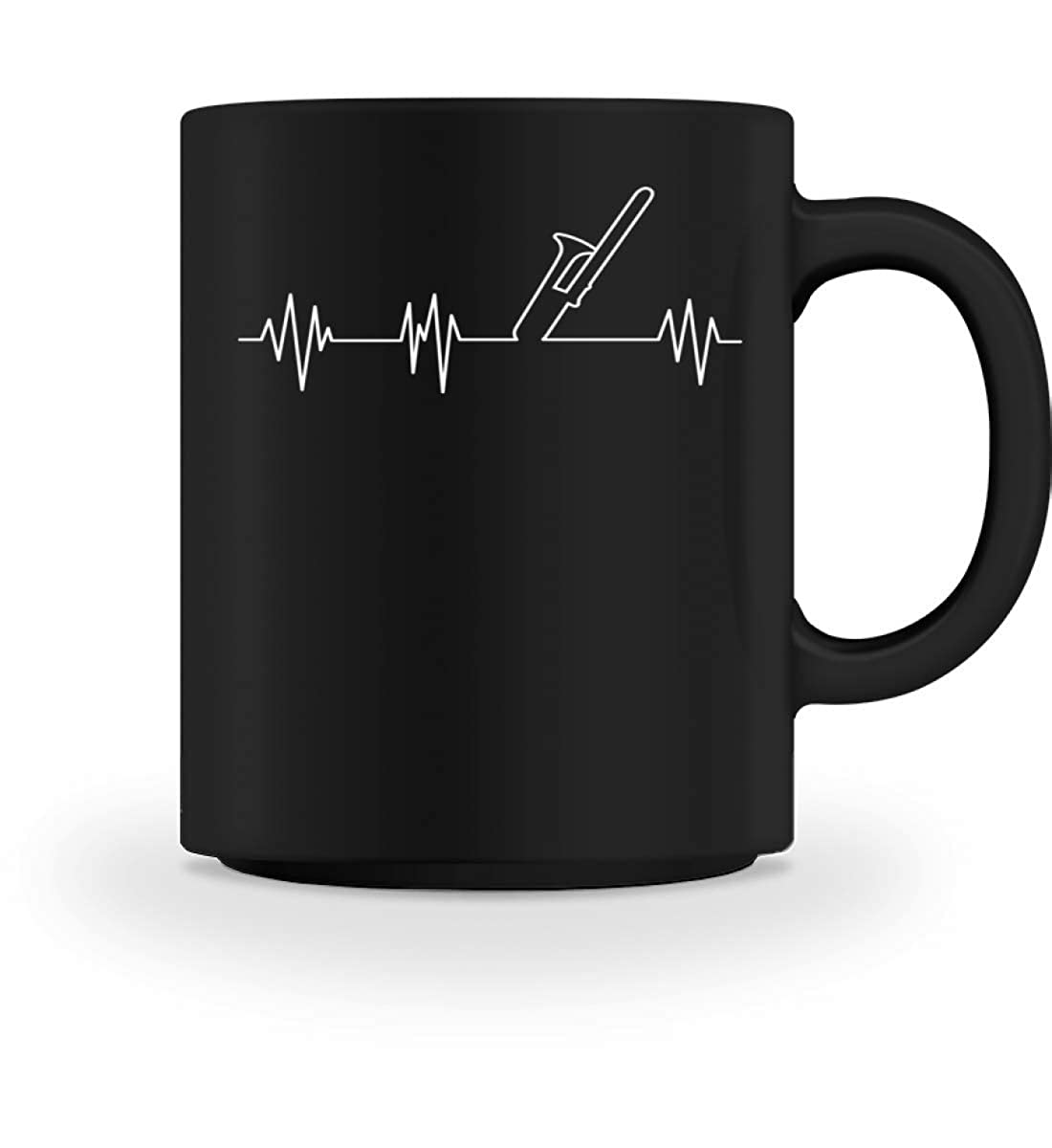 Tasse /à caf/é Battement de C/œur Trombone