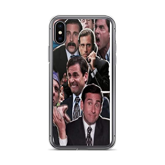 the latest a39bc 88d24 Amazon.com: iPhone Xs Max Pure Clear Case Cases Cover The Office ...