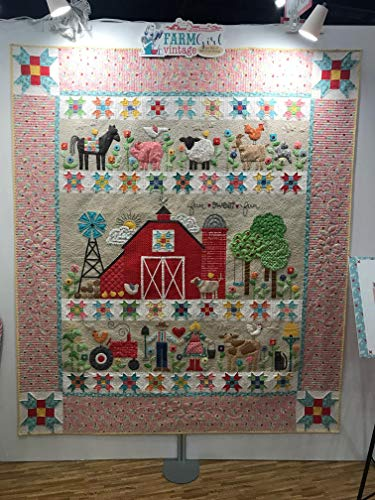 Farm Sweet Farm Quilt kit and Sew Simple Shapes