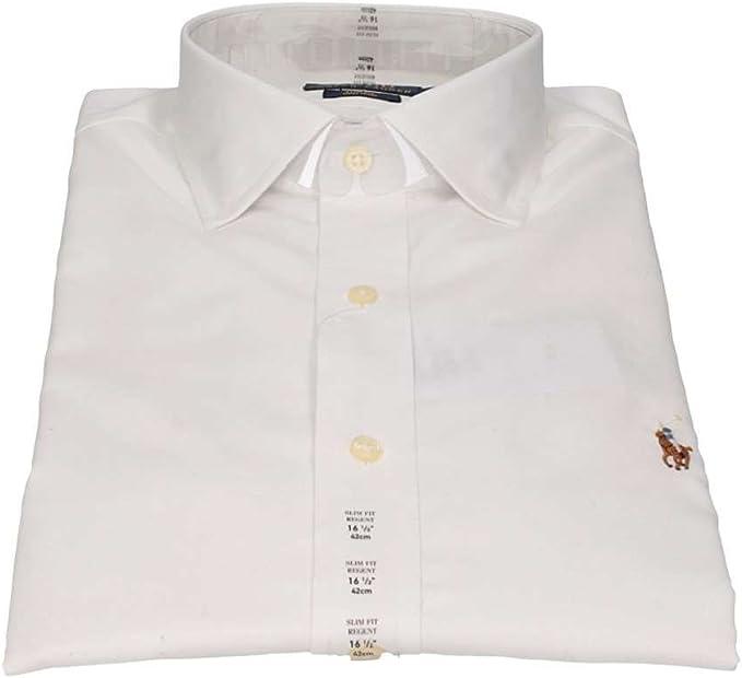 Polo Ralph Lauren 712676721001 Camisas Hombre Blanco 17/: Amazon.es: Ropa y accesorios