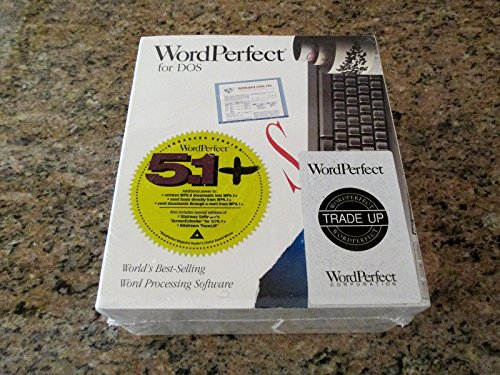 WordPerfect 5.1+ (DOS-3.5