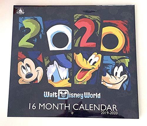 Price comparison product image Walt Disney World 2020 18 Month Calendar