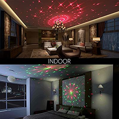 Christmas Lase Light, YINUO LIGHT Galaxy Moving Waterproof Landscape Holiday Projector Light Indoor Decoration For Xmas Halloween Party, Disco Dj, Wedding, Birthday, Stage,Outdoor Party(Galaxy)
