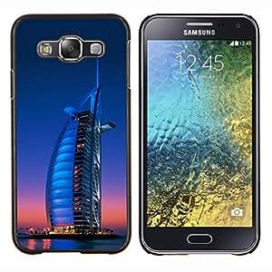 EJOOY---Cubierta de la caja de protección para la piel dura ** Samsung Galaxy E5 E500 ** --Burj Dubai