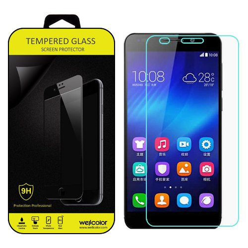 Tempered Glass for Huawei Honor 6 (Clear) - 3