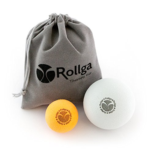 Rollga Hand and Foot Ultra-Soft Therapy Massage Ball and Stress Ball Kit