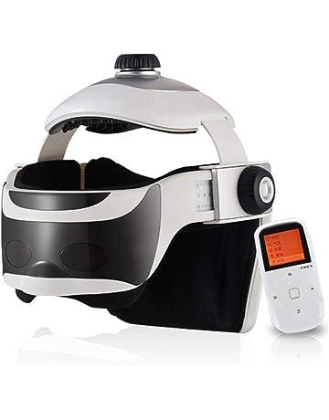 M-LKJ Masajeador de Cabeza eléctrico, masajeador de Ojos Recargable Masajeador de Casco eléctrico