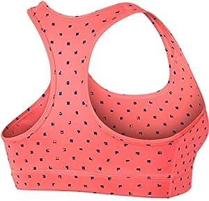 Nike Women's Pro Core Bra (XS, Orange)
