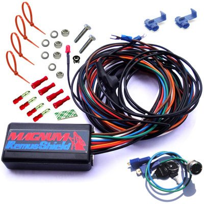 Magnum Remusshield Finger Touch Immobilizer Daytona 427 Turbo Light Service - Finger Sense Anti-Theft Module