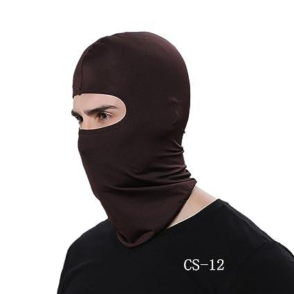 17 colores multi funciones Pasamontañas cara cubierta máscara de esquí motocicleta Balaclava Máscara Invierno térmica Esquí