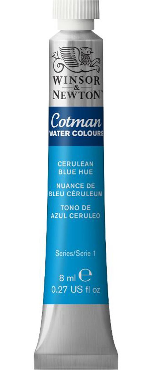 Winsor & Newton Cotman Water Color, 8ml, Cerulean