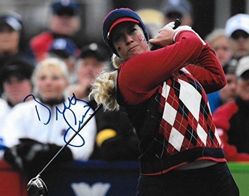 Brittany Cup - Brittany Lincicome Autographed Photo - USA Solheim Cup 8x10 - Autographed Golf Photos
