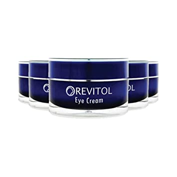 Amazon Com Revitol Eye Cream Treatment For Tired Eyes And Dark Circles 5 Pack Beauty